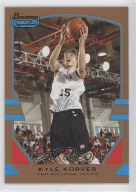 2003-04 Bowman Signature - [Base] - Gold #59 - Kyle Korver /99