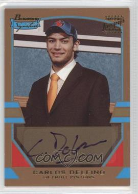 2003-04 Bowman Signature - [Base] - Gold #73 - Carlos Delfino /99