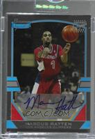 Marcus Hatten [Uncirculated] #/249