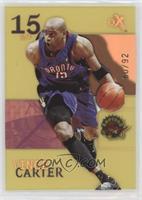 Vince Carter #/92