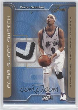 2003-04 Flair - Sweet Swatch - Game Jersey Patch #SSP-DG - Drew Gooden /50