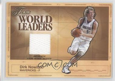 best sneakers 92b3e 6a729 2003-04 Flair - World Leaders Game-Worn Jersey #WL-DR - Dirk ...
