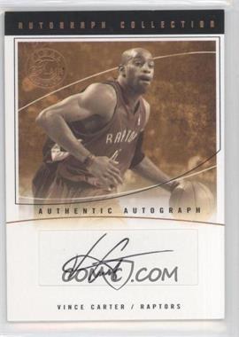 2003-04 Flair Final Edition - Autograph Collection - [Autographed] #AC-VC - Vince Carter /100
