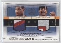 Willie Green, Allen Iverson #/10