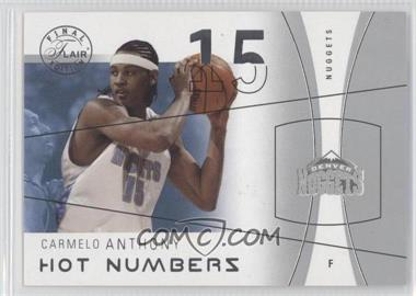 2003-04 Flair Final Edition - Hot Numbers #4 HN - Carmelo Anthony /500
