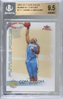 Carmelo Anthony [BGS 9.5 GEM MINT] #/100