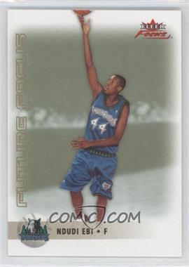 2003-04 Fleer Focus - [Base] - Gold Anniversary #152 - Ndudi Ebi /50