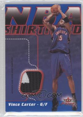 2003-04 Fleer Focus - NBA Shirtified - Jersey Nameplate #NSNP-VC - Vince Carter /50