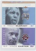 Tracy McGrady, Vince Carter
