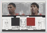Jalen Rose, Eddy Curry /350
