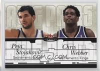 Peja Stojakovic, Chris Webber /59