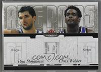 Peja Stojakovic, Chris Webber /250