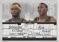 Jermaine O'Neal, Metta World Peace /500