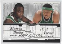 Marcus Banks, Paul Pierce /500