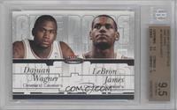 Dajuan Wagner, Lebron James /500 [BGS9.5]