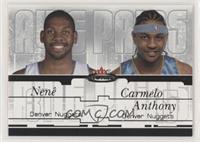 Nene, Carmelo Anthony #/500
