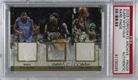 Tracy McGrady, Allen Iverson, Paul Pierce [PSA Authentic]