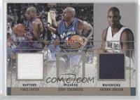 Vince Carter, Jerry Stackhouse, Antawn Jamison #/250
