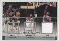 Kobe Bryant, Kevin Garnett, Amar'e Stoudemire (Stoudemire Jersey) /300
