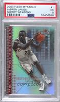 Lebron James [PSA 5 EX] #/500