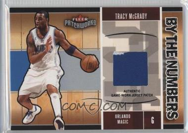 2003-04 Fleer Patchworks - By the Numbers - Jersey #BTN/TM - Tracy McGrady