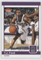 T.J. Ford #/750