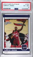 LeBron James [PSA 6 EX‑MT] #/750