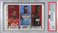 Lebron James, Carmelo Anthony, Dwyane Wade /375 [PSA 9 MINT]
