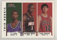 T.J. Ford, Dwyane Wade, Kirk Hinrich [EX to NM]