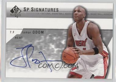 2003-04 SP Authentic - SP Signatures #LO-A - Lamar Odom
