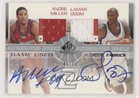 Andre Miller, Lamar Odom #/50