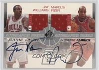 Jay Williams, Marcus Fizer /50