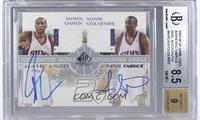 Shawn Marion, Amare Stoudemire /50 [BGS 8.5]