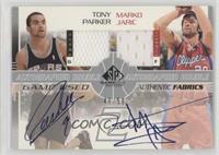 Tony Parker, Marko Jaric #/50