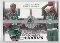 Paul Pierce, Kedrick Brown /100