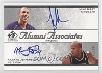 Mike Bibby, Richard Jefferson /100