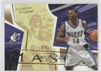 Desmond Mason /25