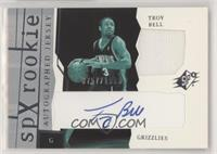 SPx Auto Rookie Jerseys - Troy Bell #/1,999