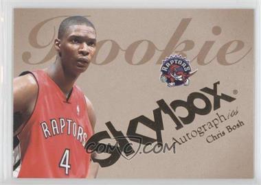 2003-04 Skybox Autographics - [Base] #54 - Chris Bosh /1500