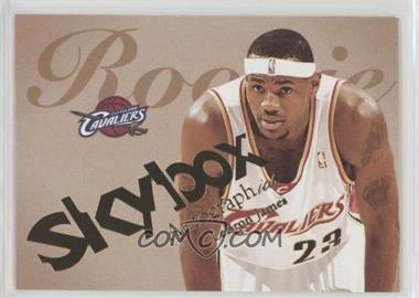 2003-04 Skybox Autographics - [Base] #77 - Lebron James /1500