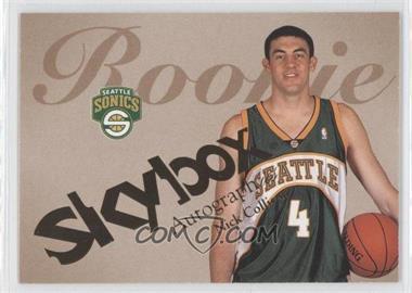 2003-04 Skybox Autographics - [Base] #79 - Nick Collison /1500