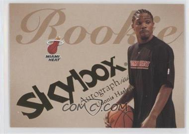 2003-04 Skybox Autographics - [Base] #81 - Udonis Haslem /1500