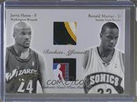 Jarvis Hayes, Ronald Murray /50