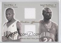 David West, Jamal Mashburn /500