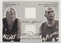 Dwyane Wade, Jerry Stackhouse [EX to NM] #/500