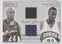 Jarvis Hayes, Ronald Murray /500