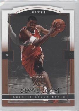 2003-04 Skybox Limited Edition - [Base] - Photographer Proof [Autographed] #104 - Shareef Abdur-Rahim /25