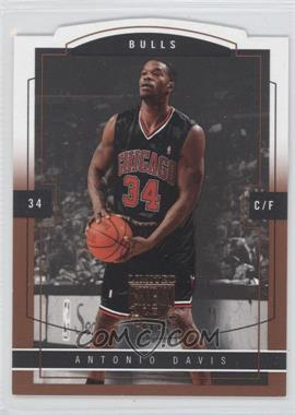 2003-04 Skybox Limited Edition - [Base] - Photographer Proof [Autographed] #110 - Antonio Davis /25
