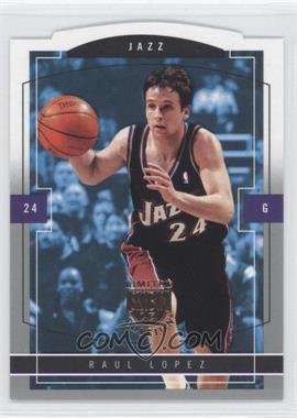 2003-04 Skybox Limited Edition - [Base] #139 - Raul Lopez /399