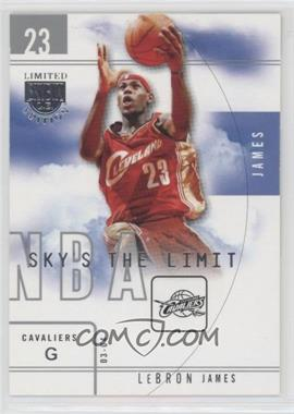 2003-04 Skybox Limited Edition - Sky's the Limit #16SL - Lebron James